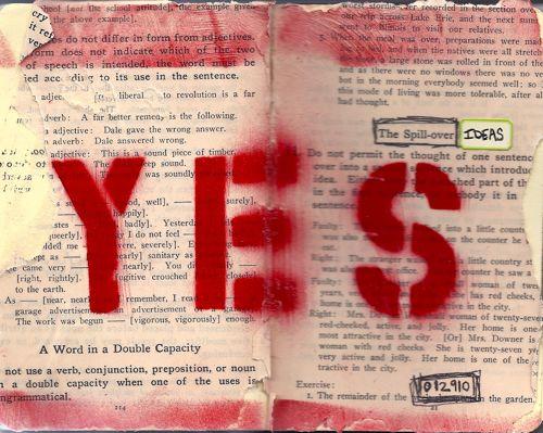 Yes art journal