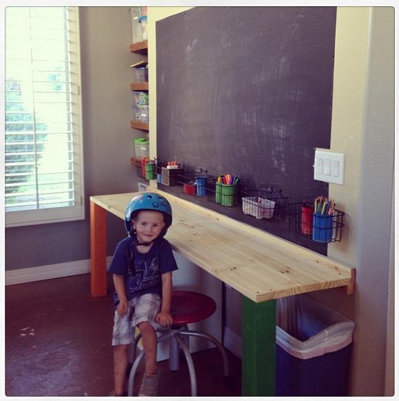 Studio kids area
