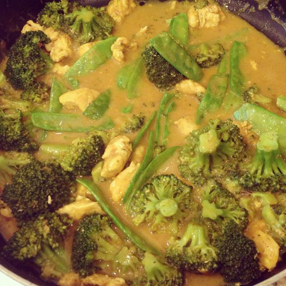 Homemade Thai curry recipe.